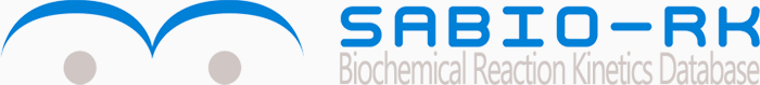 The Logo of Sabio-RK. Sabio-Rk is a biochemical reaction kinetics database